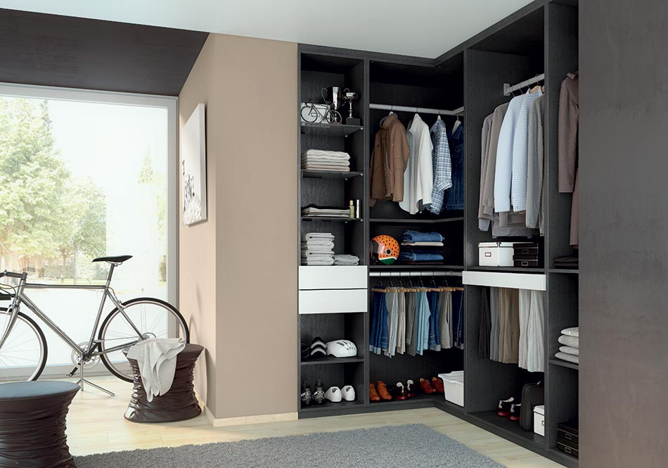 dressing am nagement et portes de placard chelet bois gu rande. Black Bedroom Furniture Sets. Home Design Ideas